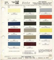 automotive color chips