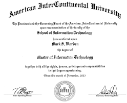 aiu degree
