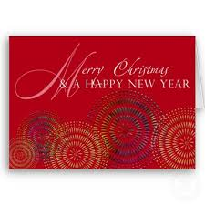 greetings for christmas and new year
