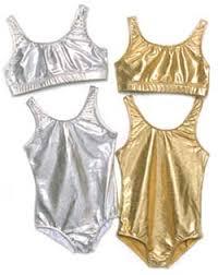 gold sports bra