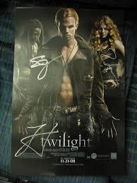 autographed twilight