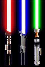 different lightsabers