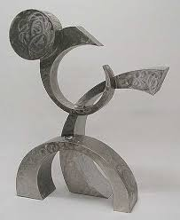 modern abstract sculpture