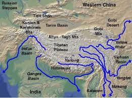 rivers of south asia