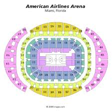 american airlines arena seating map