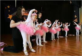 little girl ballet