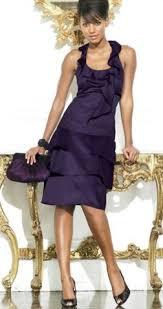 karen millen blue ruffle dress
