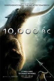 10000 bc movie poster