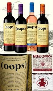 humorous wine labels