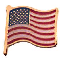 america flag pin