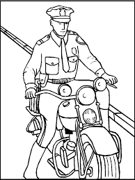 police coloring books