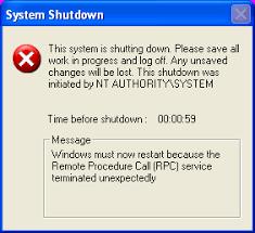 emergency shutdown
