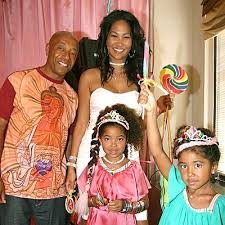 kimora and russell simmons