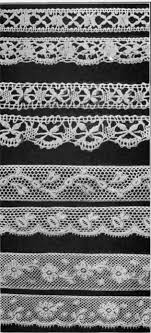 lace edged