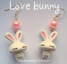 bunny earring