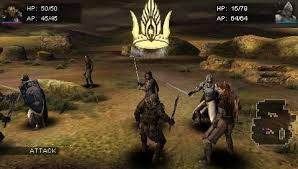 lord of the rings tactics psp