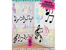 musical notes decorations