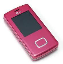 lg chocolate pink phone