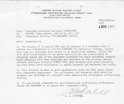 sample letter of commendation