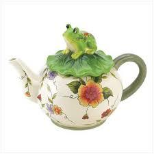 frog teapots