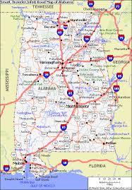 alabama road maps