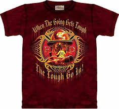fire fighter tshirt