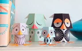 christmas paper toys