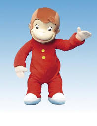 curious george stuffed toy