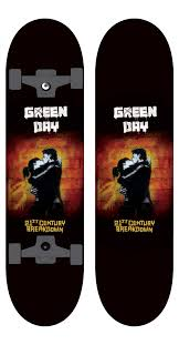green day skateboard