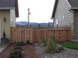 pictures of cedar fences