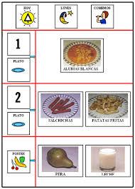 ejemplo de menu