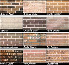 color of brick