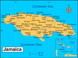 jamaica island map