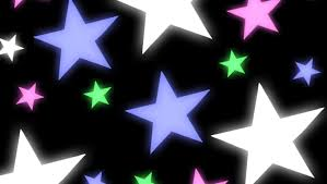 Wallpapers Backgrounds - COLORFUL STARS Wallpaper