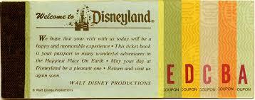 disneyland coupon book