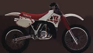 1988 yamaha yz250