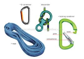 mountain climbing equipment