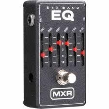 mxr 6 band equalizer