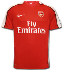 new arsenal home kit 09 10