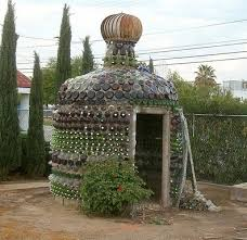 beer bottle house