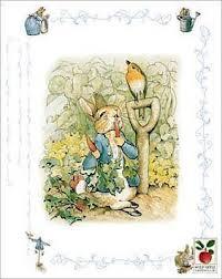 peter rabbit clip art
