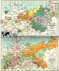 maps of prussia