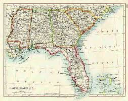 map of florida and alabama