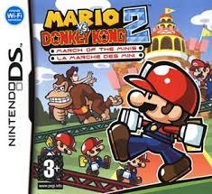 mario vs donkey kong 2 ds