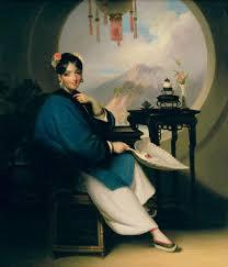 chinese geisha girl