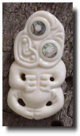 maori bone art