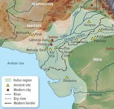 egyptian civilization map