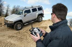 radio controlled hummer