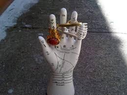 jewelry hand stand