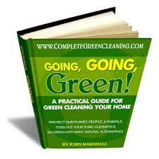 going green cleaning
